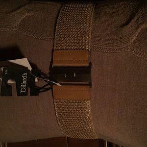 Betset johnson Accessories - New Betset Johnson Beige ElasticBelt S/M